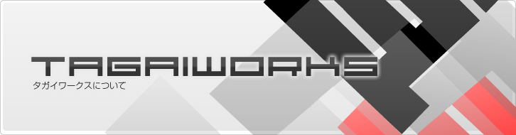 TAGAIWORKS【タガイワークス】|タガイワークスについて